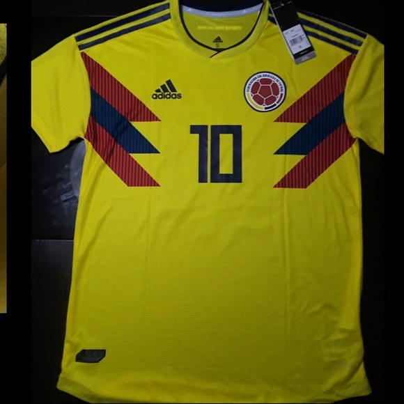 031dc633feb Colombia Home world cup 2018 jersey JAMES 10